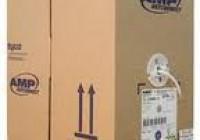 Cáp mạng AMP Cat 5E (Chống nhiễu) thùng 305m chính hãng