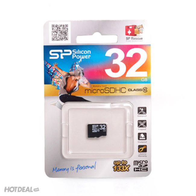 Thẻ Nhớ SP Silicon Power Micro SDHC Class10 32GB