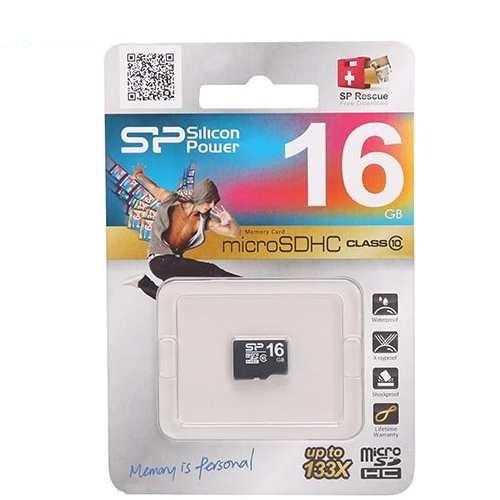 Thẻ nhớ Silicon Power 16GB (Micro SD 16GB) class 10